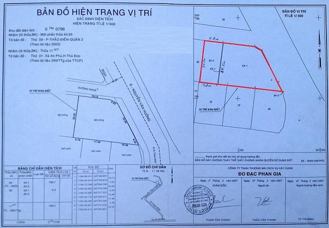 Bán Đất MT Nguyễn Văn Hưởng Quận 2