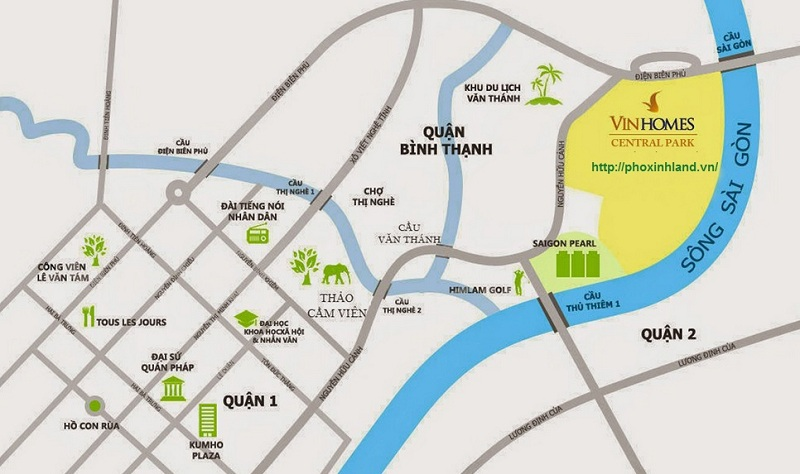 Biệt Thự Vinhomes Central Park