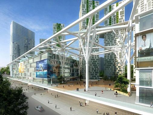 Mặt tiền dự án Metropolis Thảo Điền