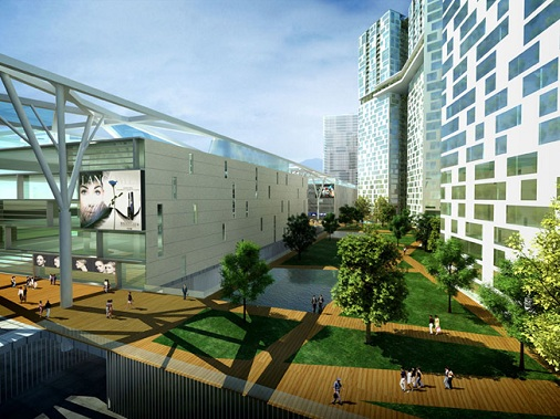 Không gian xanh Metropolis Thảo Điền