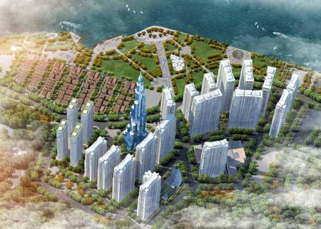 Tổng thể dự án Vinhomes Central Park